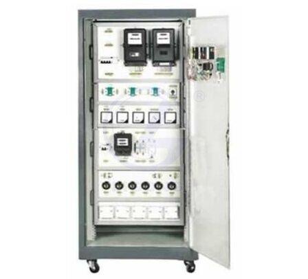 仪表及照明/单三相电机实训考核装置可完成各种常用照明电路和常用